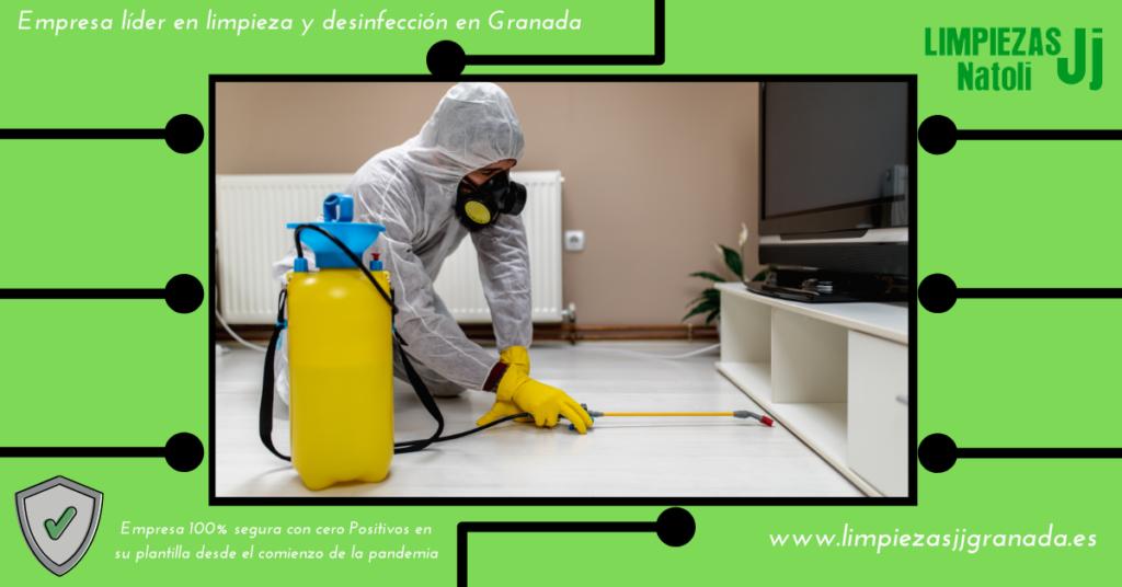 Empresa Líder limpieza en Granada